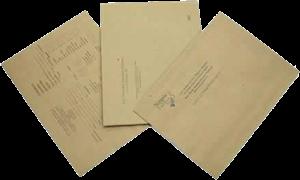 envío por correo